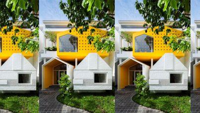 Thiết kế trường mầm non 3 tầng với kiến trúc độc đáo trên diện tích 486m2