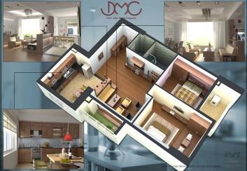 Nội thất chung cư – Thái Thịnh