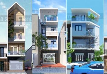 Tốp mẫu thiết kế nhà phố đẹp 2016-2017