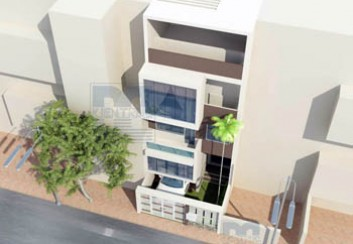 Thiết kế nhà phố 4 tầng 84m2