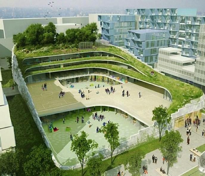 Thiết kế trường học phổ thông