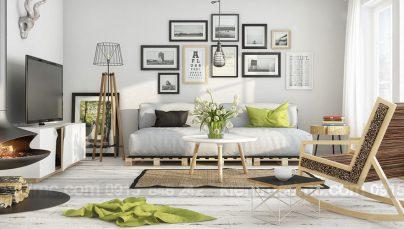 Tư vấn thiết kế nội thất phòng khách đẹp với 3 phong cách thiết kế